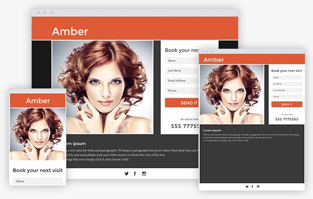 Click to open AMBER - LANDING PAGE