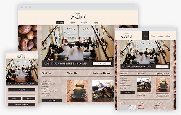 Reddrop Media CAFE Template