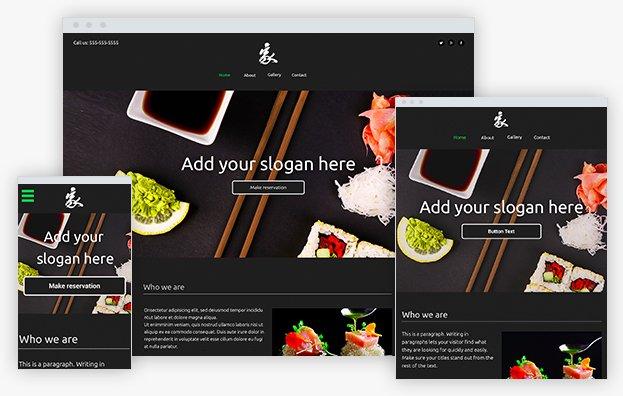 Reddrop Media Sushi Template